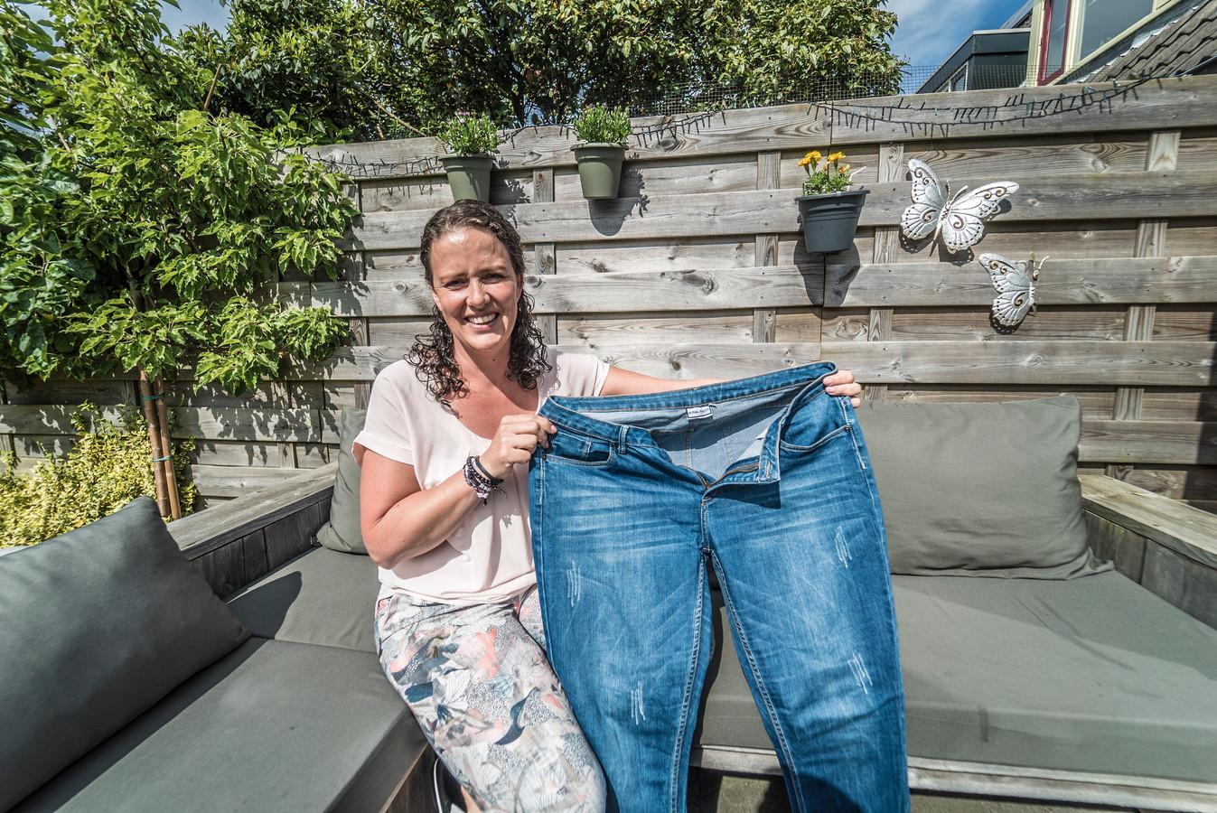 Jerney Nieuwets is 23 kilo kwijt.