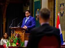 President Santokhi vraagt om investeringen voor noodlijdend Suriname: 'Schuld is als zwaard van Damocles'