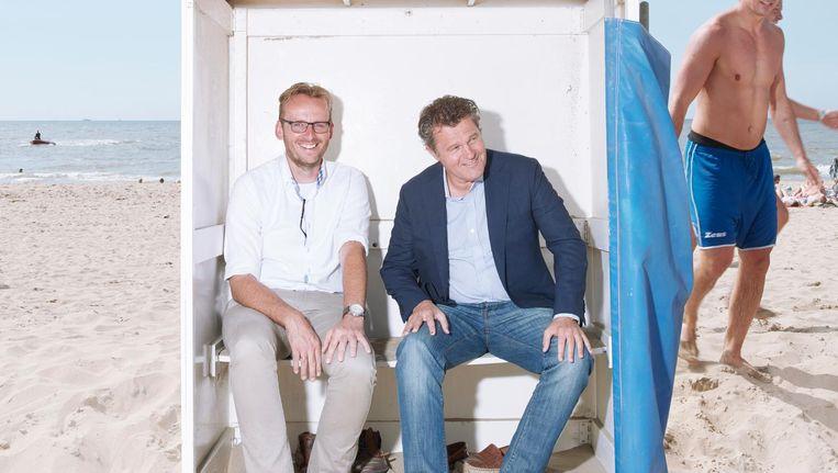 Marco Koning (links) en Jan Fens. Beeld Erik Smits
