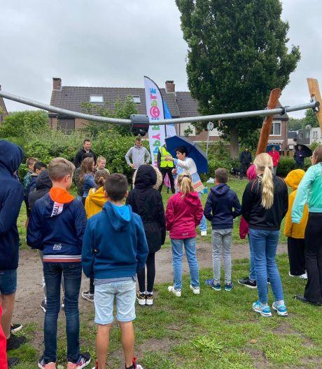 Een tokkelbaan wilden de kinderen graag - en die kwam er ook aan de Keizersdijk