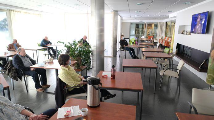 Een stukje cultuur in Huize Zonnelied met hulp van CC Het Perron.