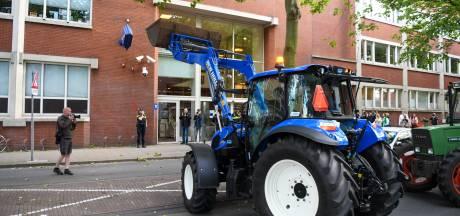 Partij voor de Dieren wil een verbod op protesteren met tractoren in Leiden