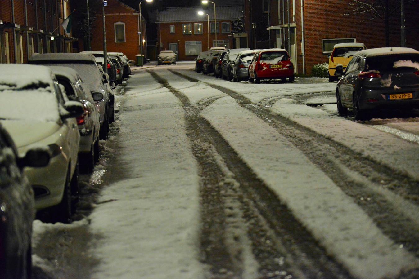 Sneeuw in Breda