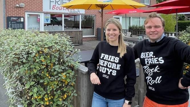"""Daphne (22) neemt Frietboutique over: """"Frituur uitbaten is al jaren een droom"""""""