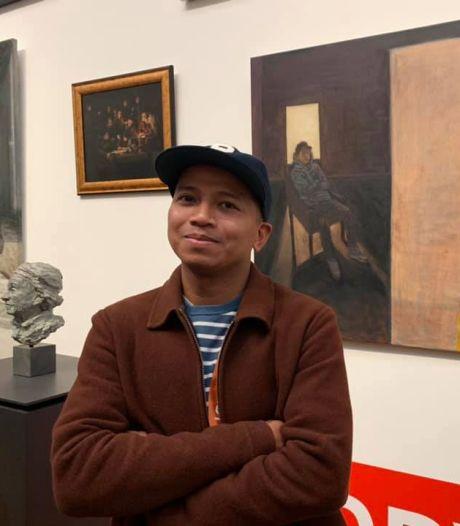 Daar hangt 'ie! Rembrandt-schilderij van Leerdamse Ruben krijgt plek in Rijksmuseum