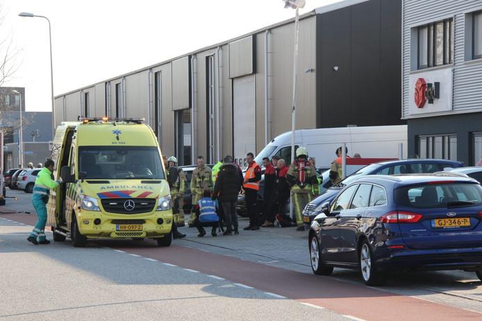 Drie ambulances zijn ter plaatse in Rijssen