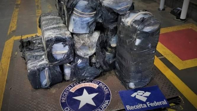 339 kilo cocaïne voor Antwerpen door politie onderschept in Brazilië