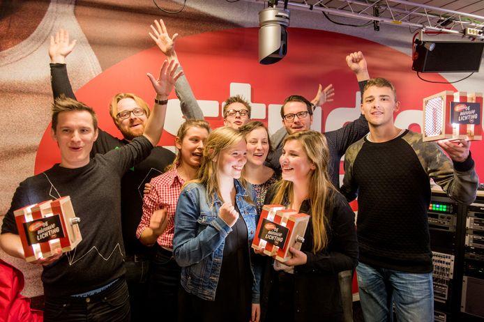 Gent boven op De Nieuwe Lichting 2015 met winnaars Zinger, I will, I swear en St. Grandson.