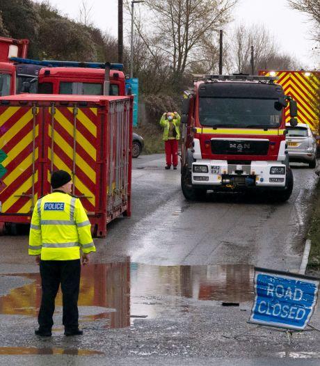 Explosie in Engels waterzuiveringsbedrijf, zeker vier doden