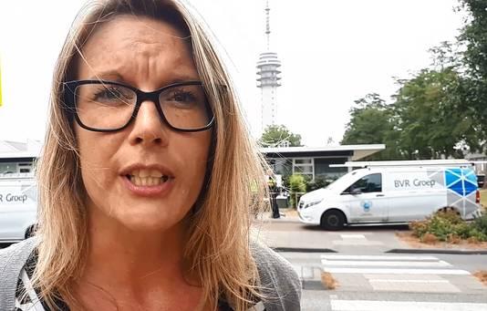Annemiek Roovers, getuige van plofkraak in Roosendaal