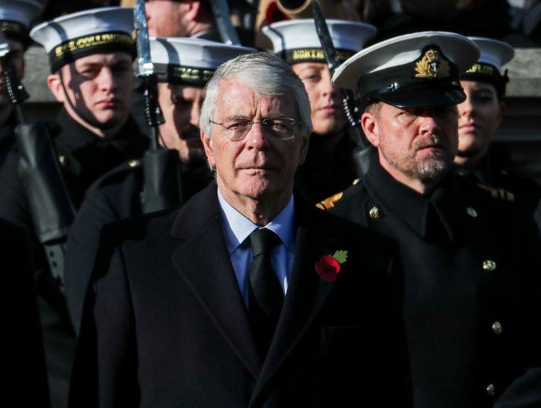 Oud-premier John Major. Beeld Reporters / Cover Images