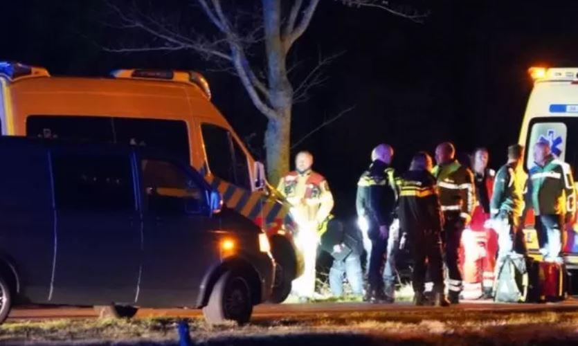 Kind van vijf jaar overleden bij ongeluk bij Staphorst.