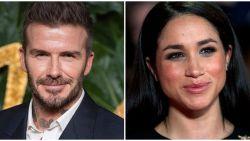 """Meghan zag ook David Beckham wel zitten: """"Ze was onweerstaanbaar aangetrokken tot hem"""""""
