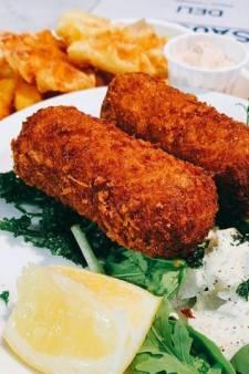 Et la meilleure croquette aux crevettes de Bruxelles est...