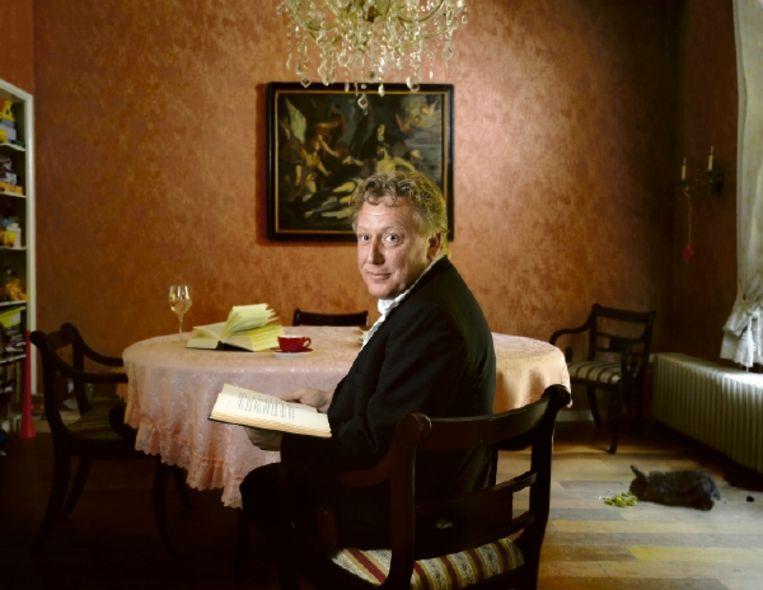 Geert Kimpen: 'Niks is toeval, alles heeft betekenis. Maar het is wel de betekenis die je er aan toekent.' (FOTO MARK KOHN) Beeld