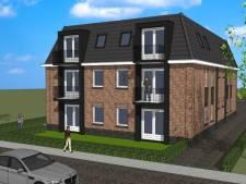 Plan voor 12 appartementen voor mensen met  verstandelijke beperking aan Abdijstraat in Heeswijk-Dinther