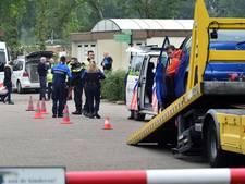 Drie auto's in beslag genomen bij controle op camping in Schijf