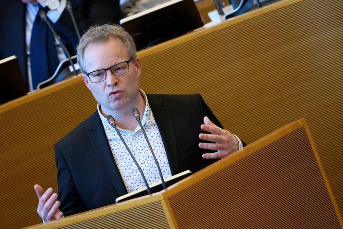 Le Ministre wallon de l'Énergie, du Climat et de la Mobilité, Philippe Henry (Écolo)