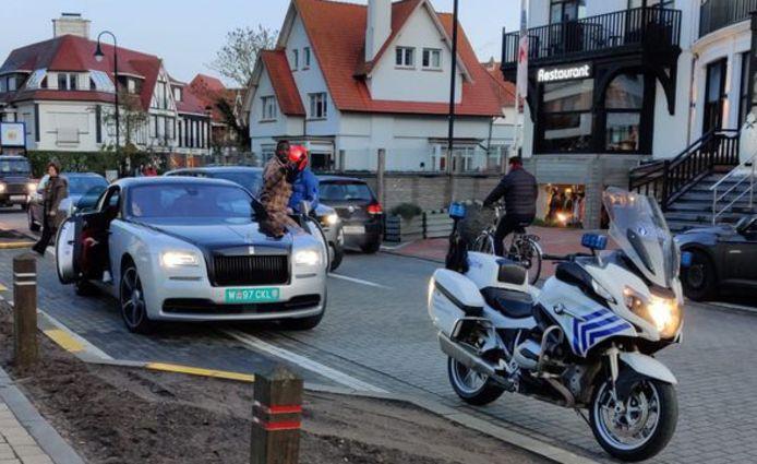 Diagne speelde zijn Rolls-Royce kwijt in Knokke, maar kreeg die later wel terug.