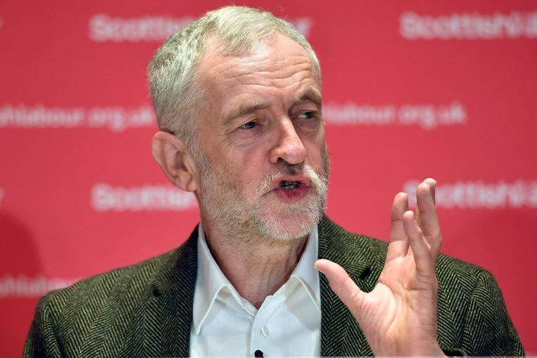 Labour-leider Jeremy Corbyn. Beeld Getty Images