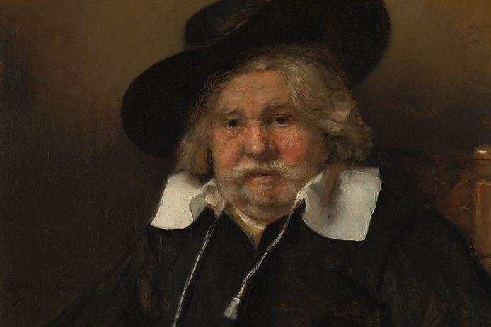 Portret van een oude man, 1667