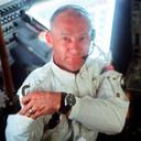 Edwin 'Buzz' Aldrin in 1969, een jaar voor de Apollo 11 maanmissie