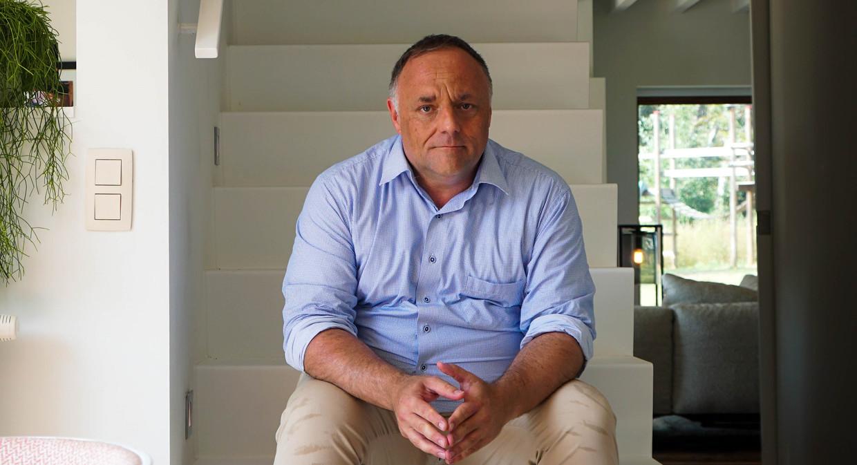 Marc Van Ranst in 'Het huis' Beeld VRT
