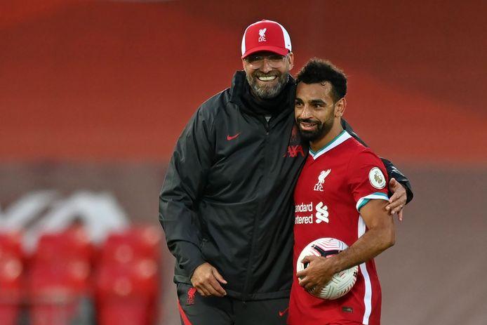 Le premier triplé de la saison anglaise pour Mo Salah.