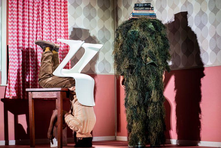 Ik ben er even niet (8+, 2021), afscheidsvoorstelling van Moniek Merkx bij Maas Theater en Dans. Beeld Kamerich Budwilowitz/EYES2