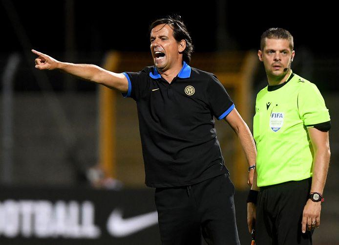 Simone Inzaghi is de nieuwe coach van Inter.