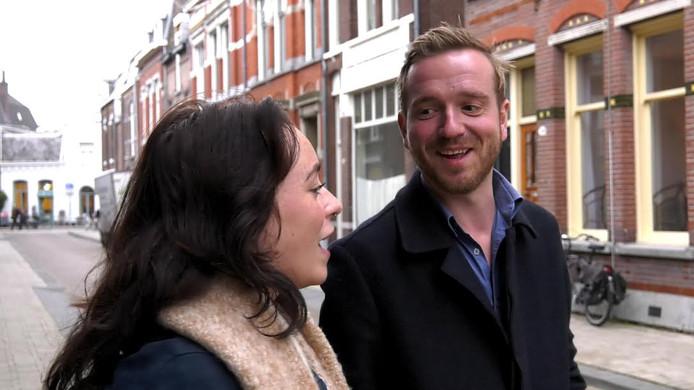 Orla Murphy en Bas Vermeer in de Telefoonstraat.