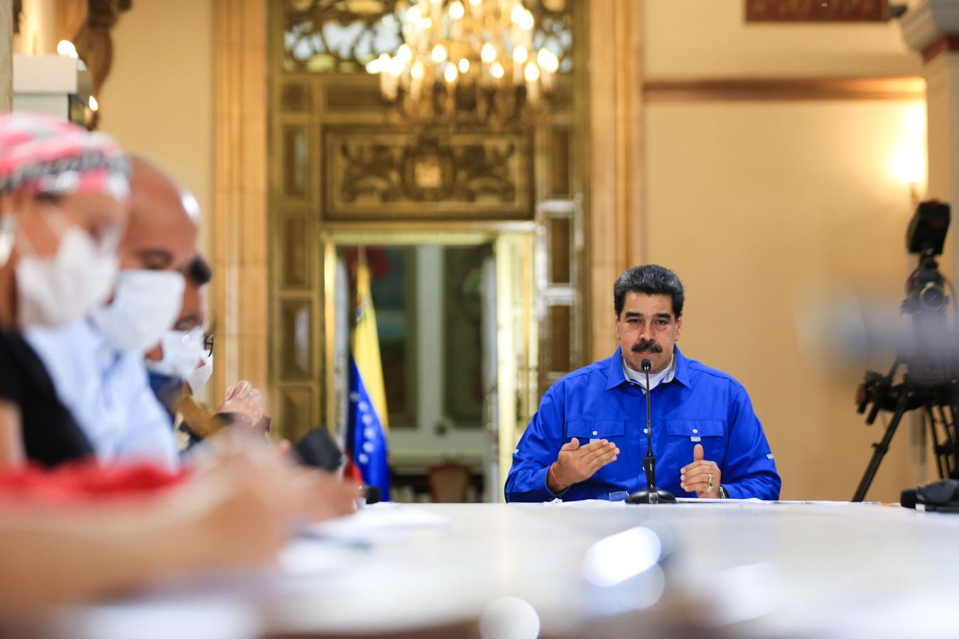 De Venezolaanse president Nicolas Maduro.