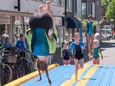 Fanatieke turners, rustig publiek in Boxmeer