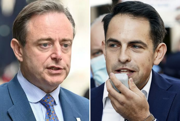 Bart De Wever en Tom Van Grieken.