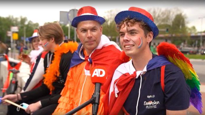 Koen en vader René Koot kunnen niet wachten om de finale vanuit Ahoy te zien.