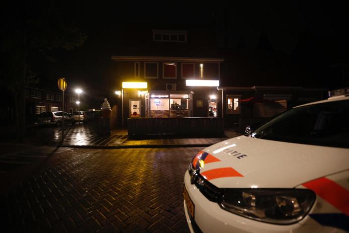 Cafetaria An'an aan de St. Philomenastraat is overvallen.