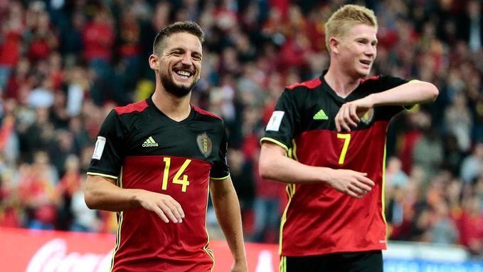De Bruyne en Hazard vervoegen Mertens op de shortlist van Gouden Bal