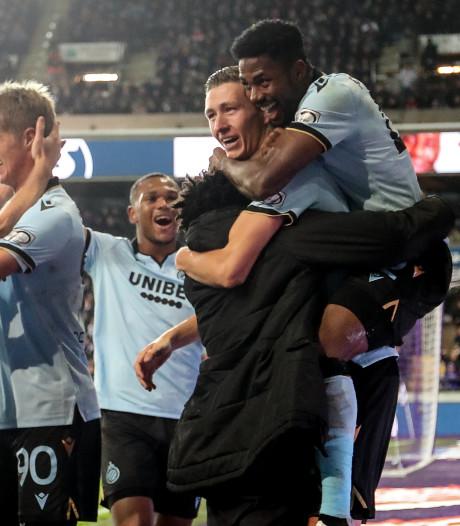 Club Brugge ook niet af te stoppen door Anderlecht