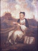 Een schilderij van Thomas a Kempis.
