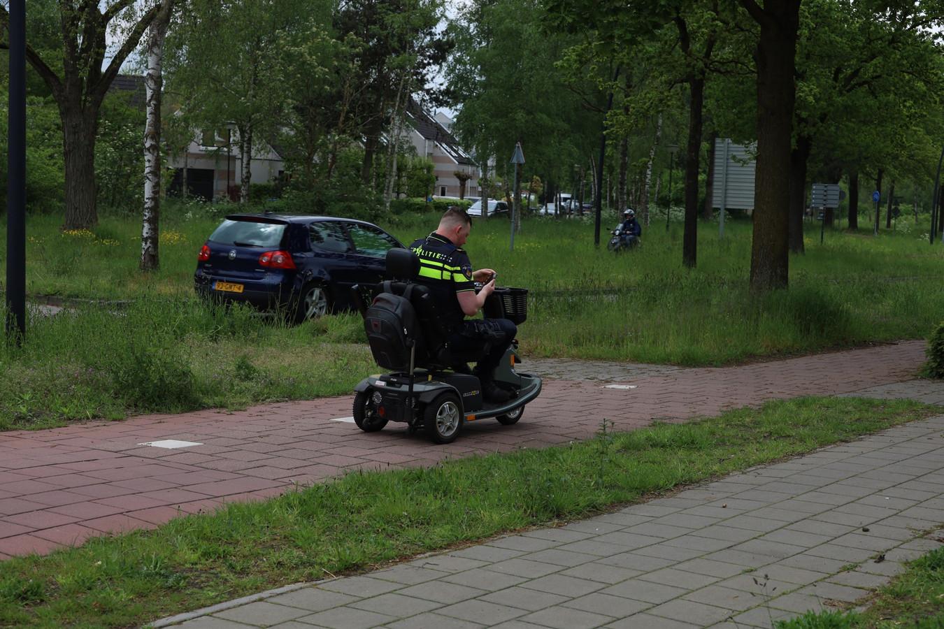 De politie heeft de scootmobiel teruggebracht.