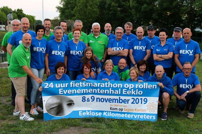 De Kilometervreters maken nu al promo voor hun weekend in november, waarin ze al geld willen inzamelen voor de trip van 2020.