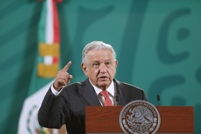 Pegasus a été employé pour mettre sur écoute des membres de la famille et des associés de l'actuel président mexicain Andrés Manuel López Obrador (photo) entre 2016 et 2017.
