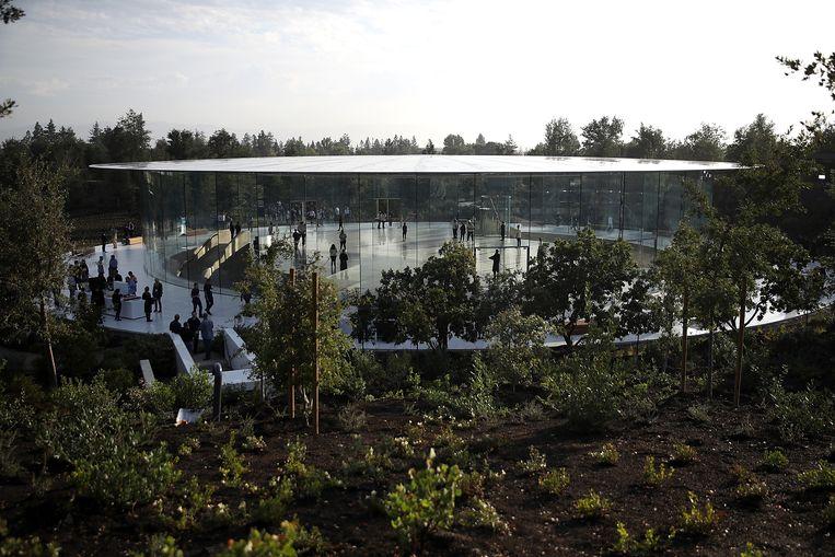 De campus Apple Park in Californië. Beeld Getty