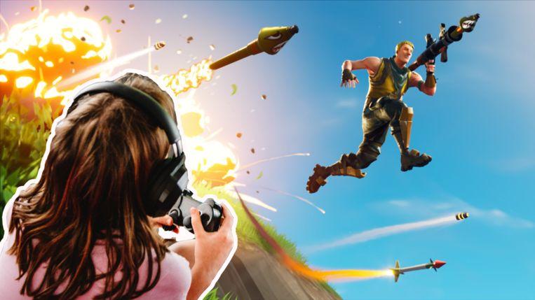 'Fortnite' heeft het genre battle royale in gaming immens populair gemaakt. Beeld istock/rv