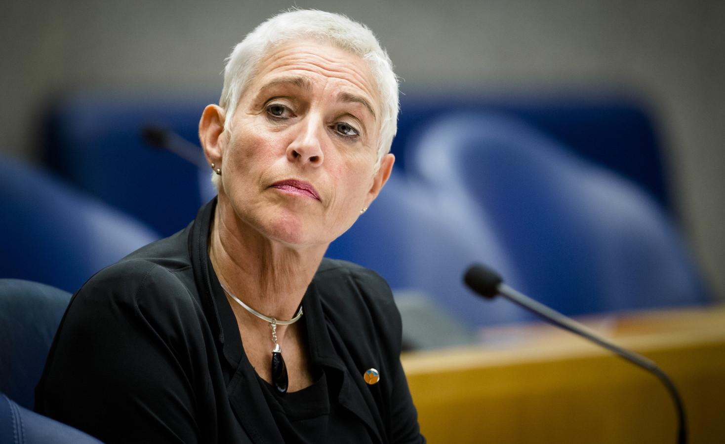 Staatssecretaris Wilma Mansveld van Infrastructuur en Milieu.