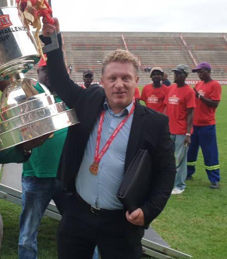Pieter de Jongh gaat viral met filmpjes: 'This is the first cup en there kommen er nog more'