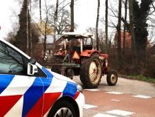 Meisje op weg naar school aangereden door tractor in Sint Anthonis