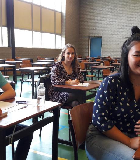 Leerlingen Van Maerlantlyceum na laatste examen toe aan de toekomst