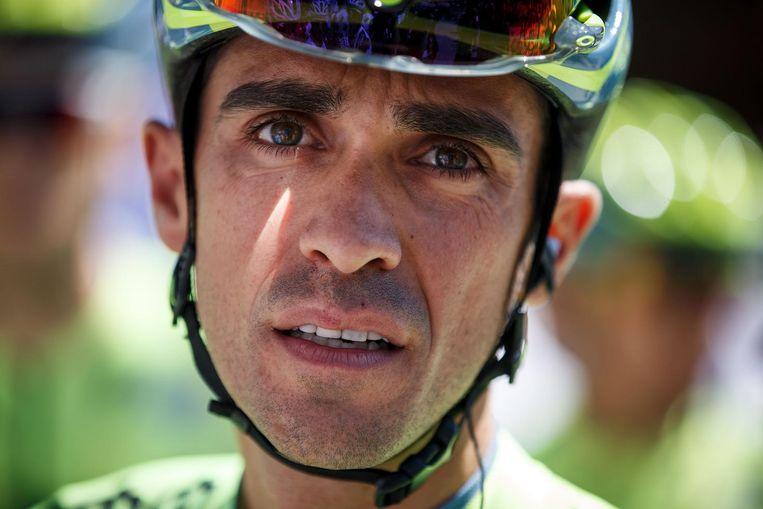 Alberto Contador. Beeld afp