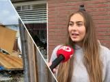 Bij Giulia sprongen de ramen door windhoos in Barendrecht